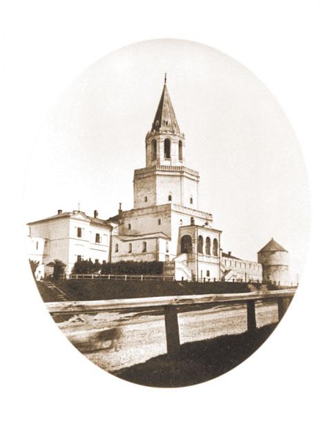 Спасская башня. Фото 1878 г.