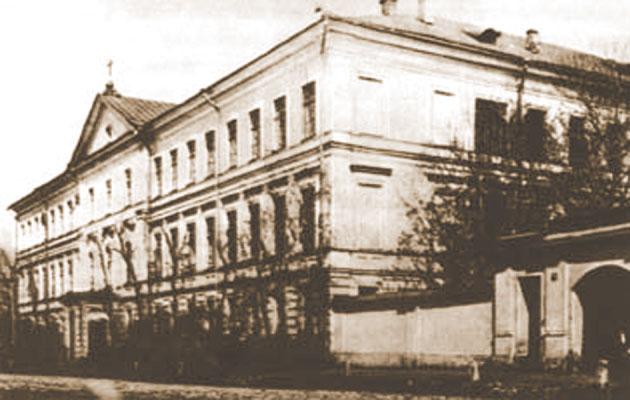 Самарская духовная семинария. Фото конца XIX века.