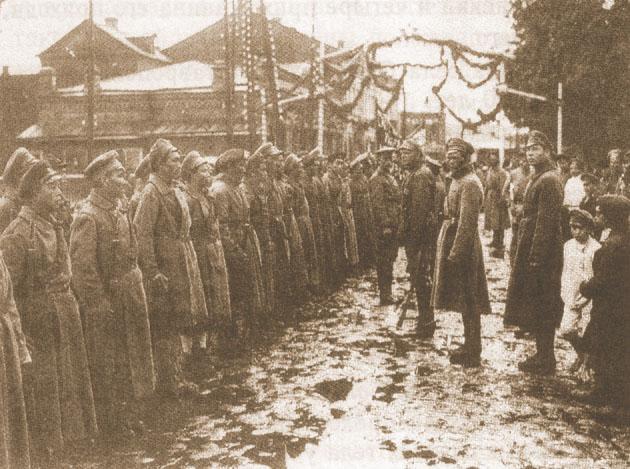 «Передовые» отряды революции – китайские части. 1919 г.