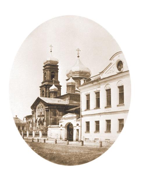 Покровская церковь. Фото конца XIX века.