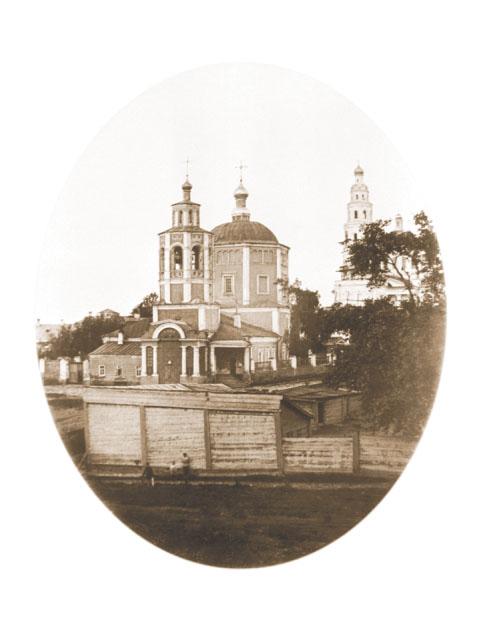 Пятницкая церковь. Фото конца XIX века.
