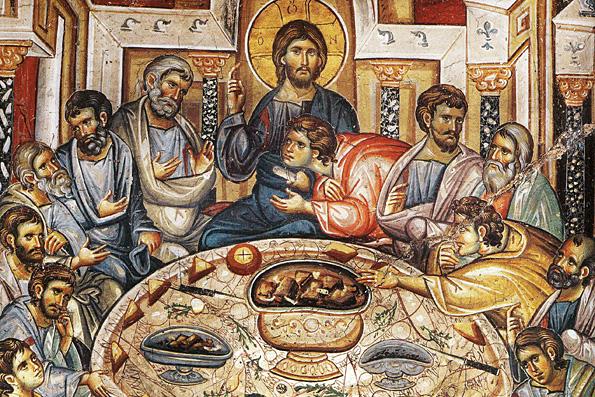 Великий четверг: о Тайной вечери – установлении Господом Таинства Евхаристии, Святого Причастия