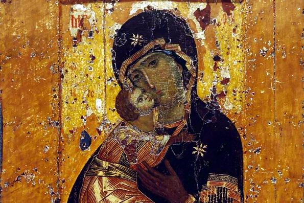 Икона Пресвятой Богородицы, именуемая «Владимирской»