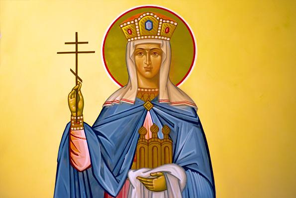 Равноапостольная Ольга, великая княгиня Российская, во Святом Крещении Елена (969 г.)