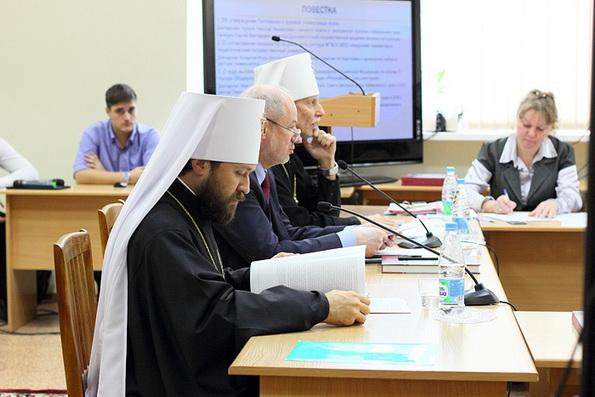 Митрополит Иларион: «Преподавание теологии в светских учебных заведениях, как вопрос о национальной безопасности