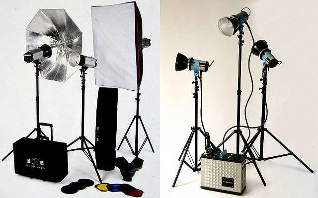 Освещение для фотостудий своими руками