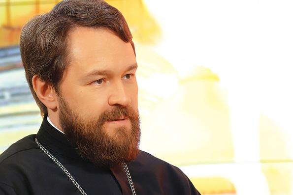 Русская Церковь построила и восстановила лишь половину от дореволюционного числа храмов, — митрополит Иларион