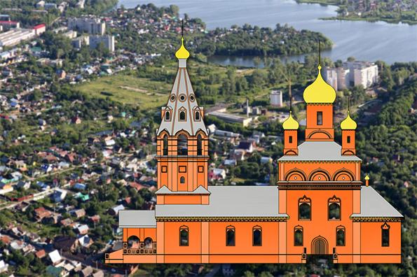 Храм Илии Пророка, город Казань (Борисково)