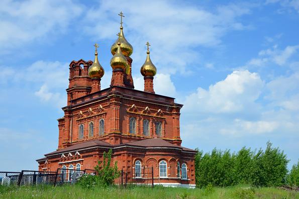 Храм святителя Николая Чудотворца, село Князево