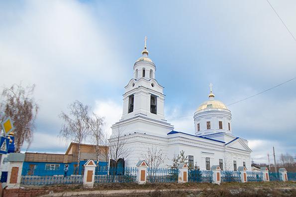 Храм Казанской иконы Божией Матери, г. Казань (п. Царицыно)