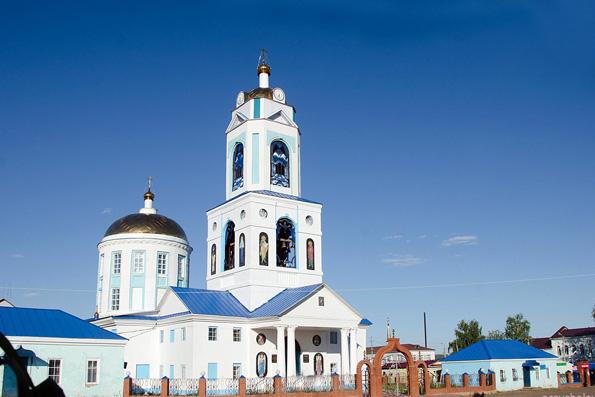 Собор в честь святителя Николая Чудотворца, г. Мензелинск