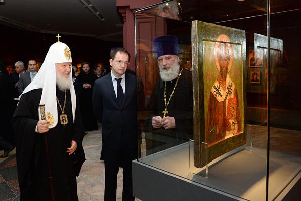 Предметы церковного искусства мирового значения собраны в Патриаршем музее