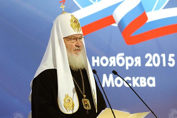 Патриарх Кирилл: события на Украине не разделили русских и украинцев