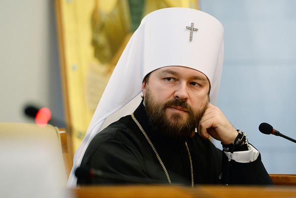 Митрополит Иларион призвал отыскивать и уничтожать террористов, потому что «России объявлена война»