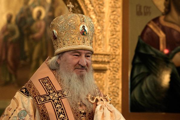 Проповедь митрополита Феофана в Неделю 26-ю по Пятидесятнице в Благовещенском соборе Казанского кремля
