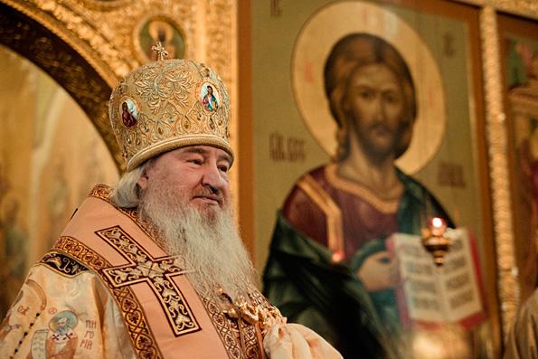 Глава Татарстанской митрополии отметил 15-ю годовщину архиерейской хиротонии