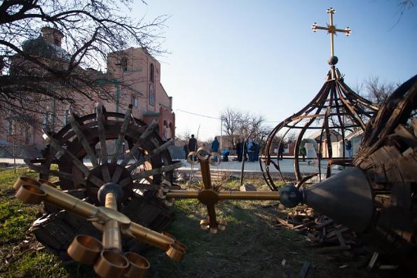 Случаи посягательств на храмы и клириков канонической Украинской Православной Церкви продолжаются