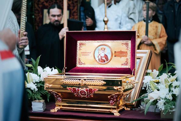 Мощам святого равноапостольного князя Владимира поклонились более 850 тысяч россиян