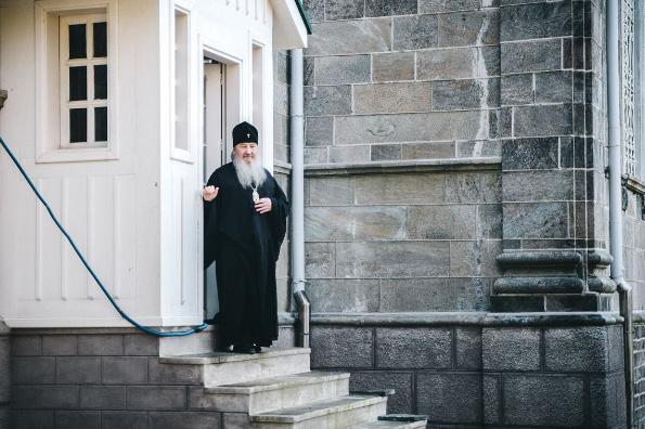 Слово митрополита Феофана о монашеской жизни на Святой горе Афон