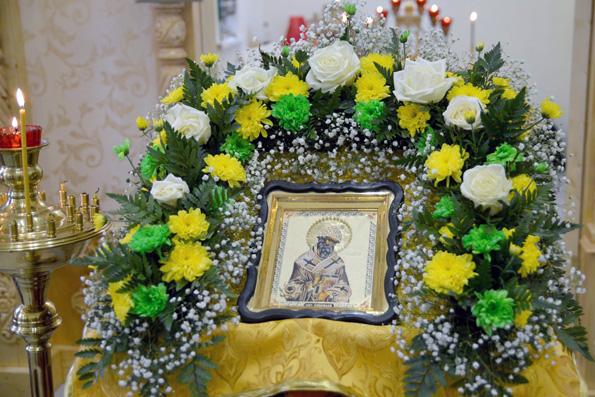 Храм святителя Спиридона Тримифунтского села Малая Шильна отметил престольный праздник