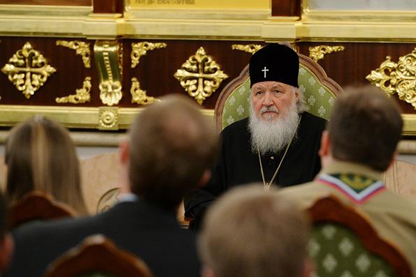 Патриарх Кирилл: Церковь не может иметь никаких политических амбиций