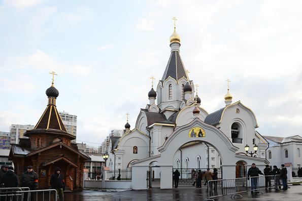 Патриарх Кирилл освятил храм на месте теракта на Дубровке