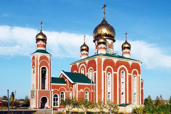 Церковь преподобного Сергия Радонежского, поселок Актюбинский
