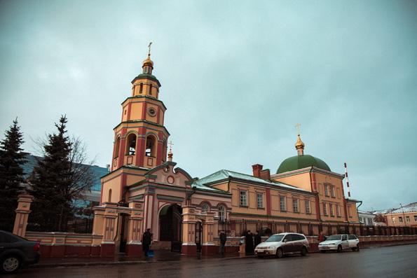 В Казани состоялось великое освящение исторического храма в честь Сошествия Святого Духа
