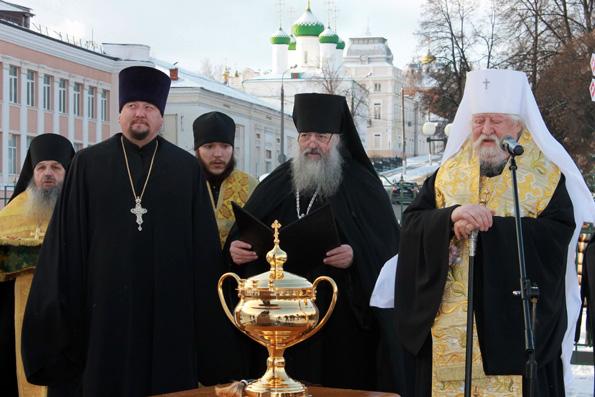 В Чебоксарах открыли памятник святителю Гурию