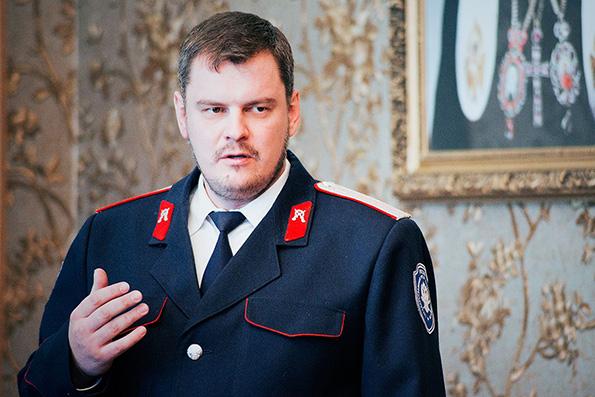 Михаил Баландин, атаман
