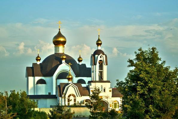 Храм преподобного Серафима Саровского, город Набережные Челны