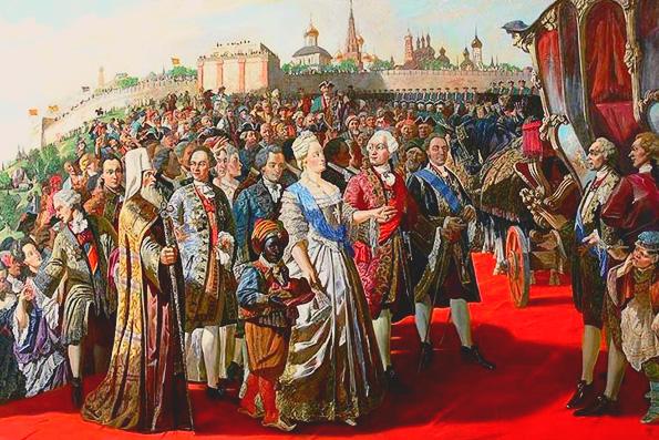Посещение Екатериной II Казани