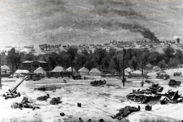 Изображение Старого Оскола в годы Великой Отечественной войны