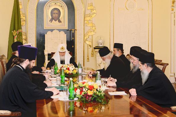 Патриарх Кирилл: Запад находится в глубоком духовном кризисе