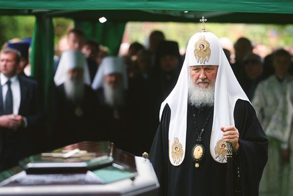 Патриарх Кирилл: Примаков был великий человек, прожил жизнь по Божьему закону