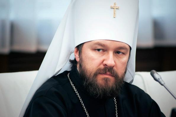 Митрополит Иларион: Папа Римский и Патриарх Кирилл могут встретиться