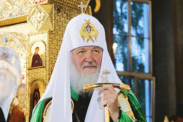Патриарх Кирилл: без веры люди подвластны информационному воздействию