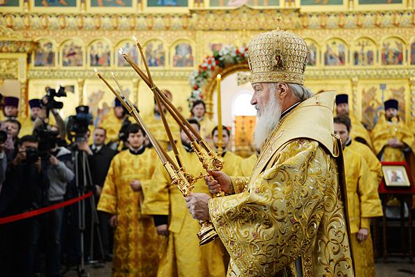 Патриарх Кирилл: «цветные революции» не приносят обещанной свободы