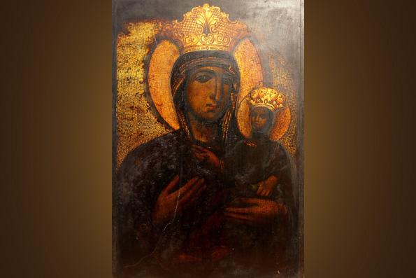 Икона Божией Матери Паммакариста - Всеблаженная
