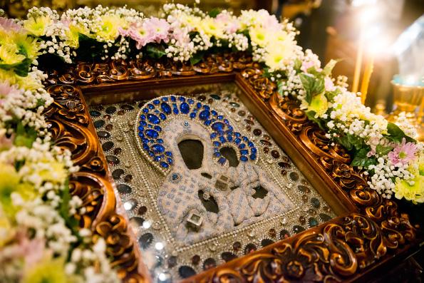 Смоленско-Седмиезерная икона Божией Матери