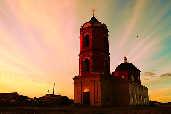 Церковь Макария Желтоводского, село Ильбухтино