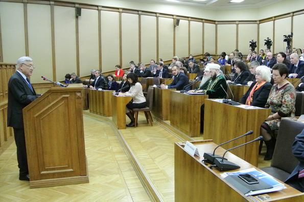 Первое заседание Общественной палаты РТ нового созыва