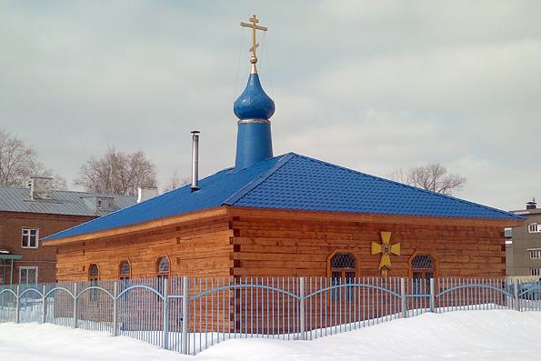 Храм в честь иконы Божией Матери «Всецарица», поселок Левченко