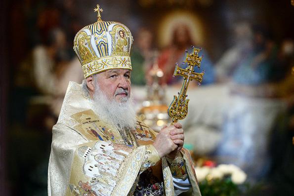 Патриарх Кирилл молится о прекращении войн и желает россиянам жить в мире