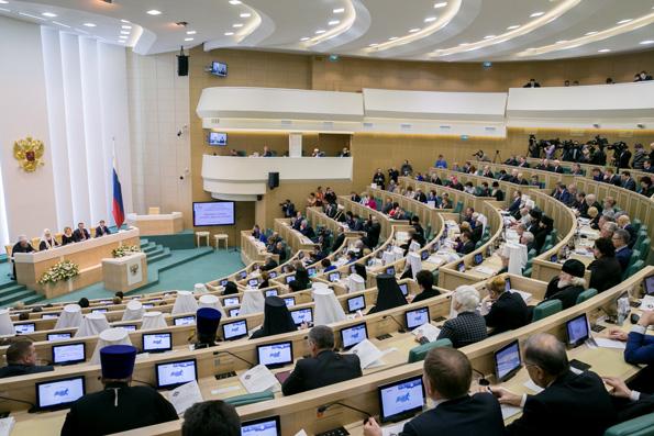 Митрополит Феофан принял участие в пленарном заседании IV Рождественских парламентских встреч