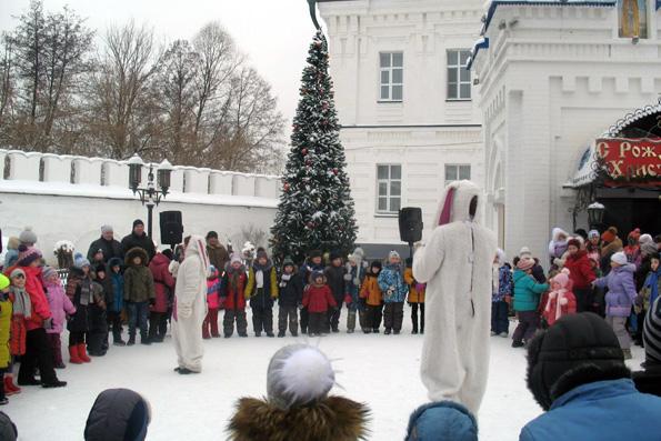 Рождественская елка в Раифе