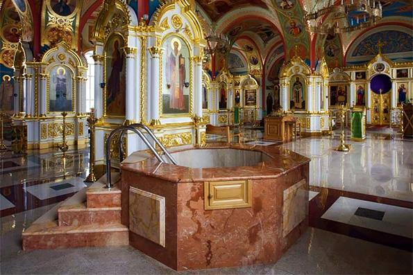 Митрополит Екатеринбургский Кирилл: Крещение совершать только полным погружением