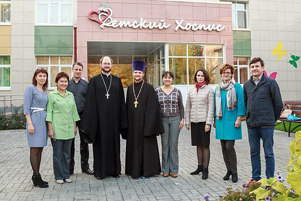 Директор Детского хосписа Санкт-Петербурга протоиерей Александр Ткаченко посетил Казанский хоспис