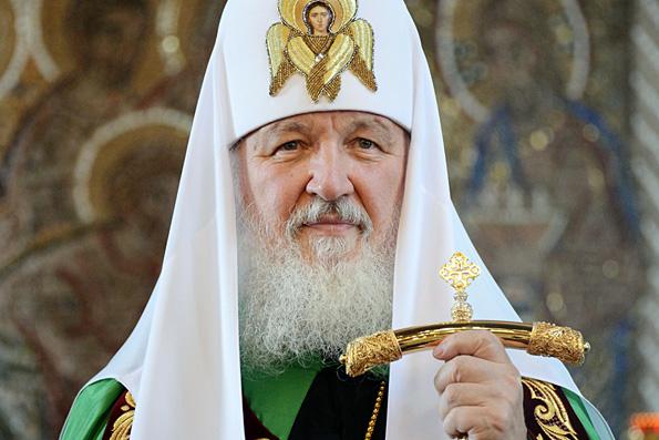 Путин, Медведев и Лукашенко побывали в храме Христа Спасителя, чтобы поздравить Патриарха с юбилеем