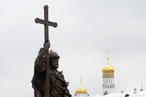 Владимир Путин отметил важность духовных заветов князя Владимира для современной России